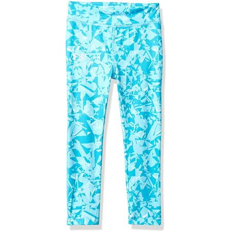 Under Armour Girls' Little Favorite Legging, Venetian Blue Shattered, 4 - image 1 of 1