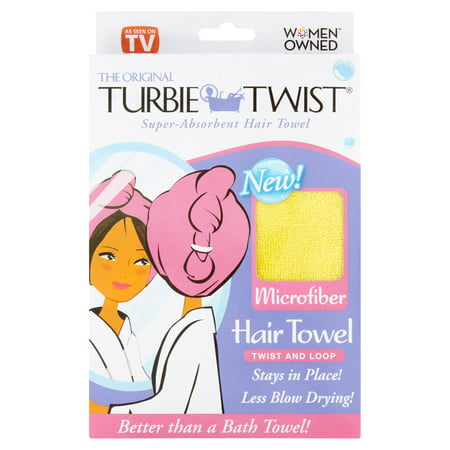 Turbie Twist The Original Microfiber Super Absorbent Hair Towel
