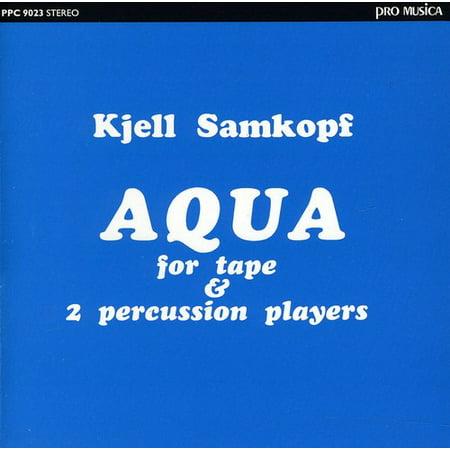 Aqua for Tape & 2 Percussion Players