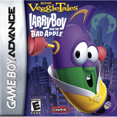 Veggie Tales: LarryBoy and the Bad Apple (GBA) (Pokemon Games For My Boy Gba Emulator)