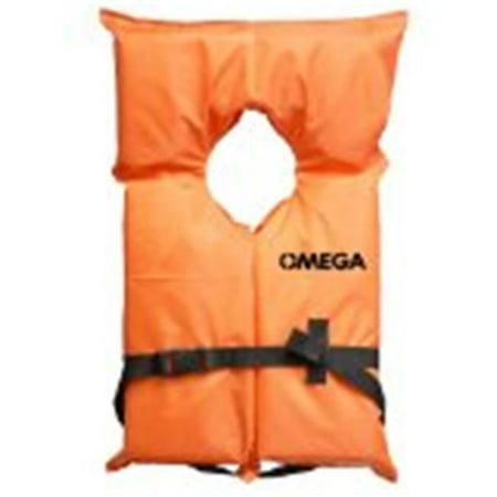 Flowt 40000-UNVPK Life Vest - Orange, Universal Adult - image 1 de 1