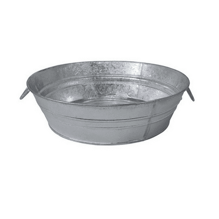 BEHRENS INC 105LFT 3GAL Low Round Flat Tub](Plastic Beverage Tubs)