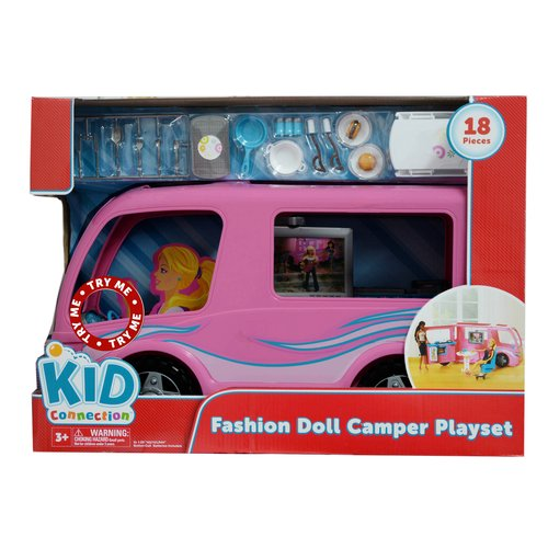 Kid Connection Fashion Doll Camper Play Set