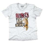 Redneck Air Freshener Country Shirt Funny Gift Idea Hunt Cool V-Neck T-Shirt