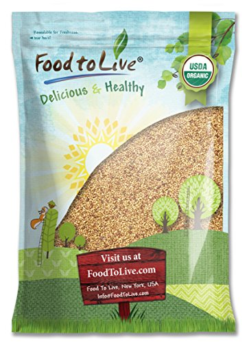 Food To Live Organic Alfalfa Sprouting Seeds (15 Pounds) by Food To Live