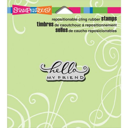 - Stampendous Cling Stamp 4.75