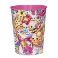Shopkins Collection Plastic Cup, 16 oz, 1ct
