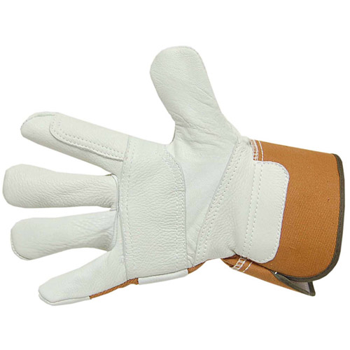 Brinley Co Deerskin Premium Leather Gardening/Work Glove