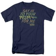 Back To The Future - Say Hi - Short Sleeve Shirt - XXX-Large