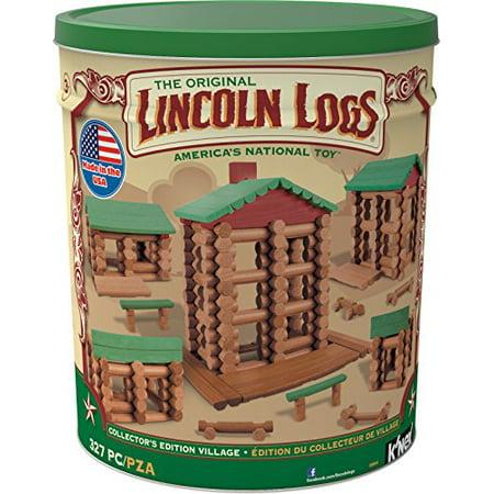 LINCOLN LOGS -Collector's Edition Village - 327 Pieces - For Ages 3+ - Preschool Education Toy - image 1 de 3