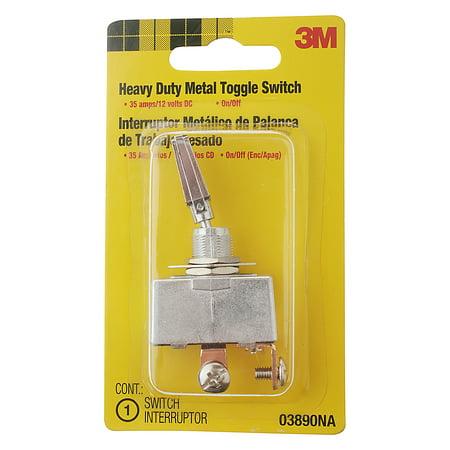 3M Heavy Duty Metal Toggle Switch Interruptor