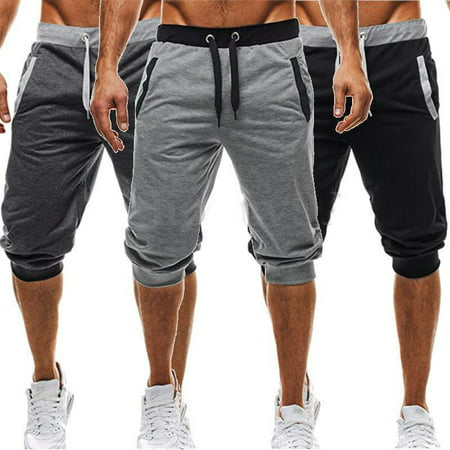 Summer Men Baggy Jogger Casual Harem Short Slacks Pants Trousers Shorts (Joggers Shorts)