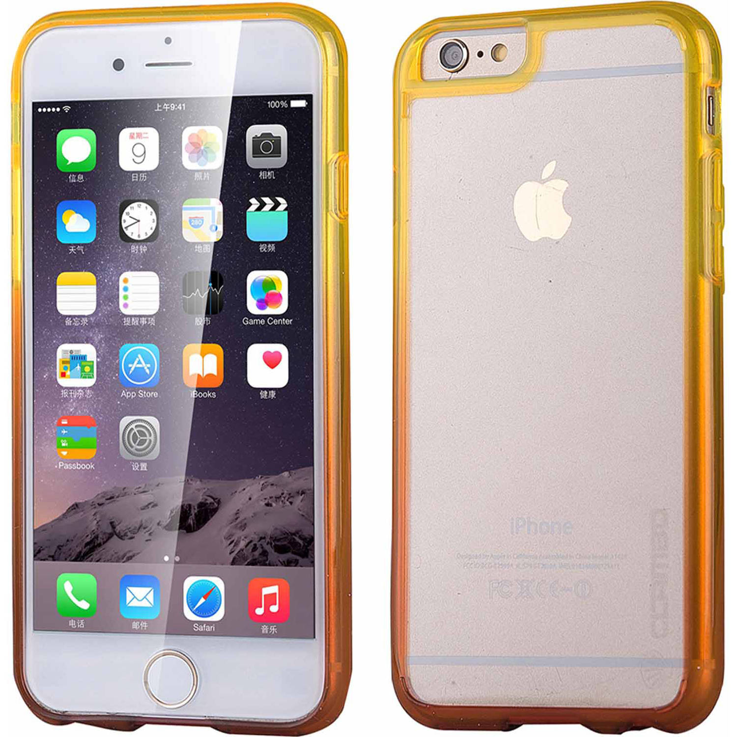 iPhone 6 6S Case, Scratch Resistant, Transparent Clear, Clambo Crystal Series Case for iPhone 6 6S