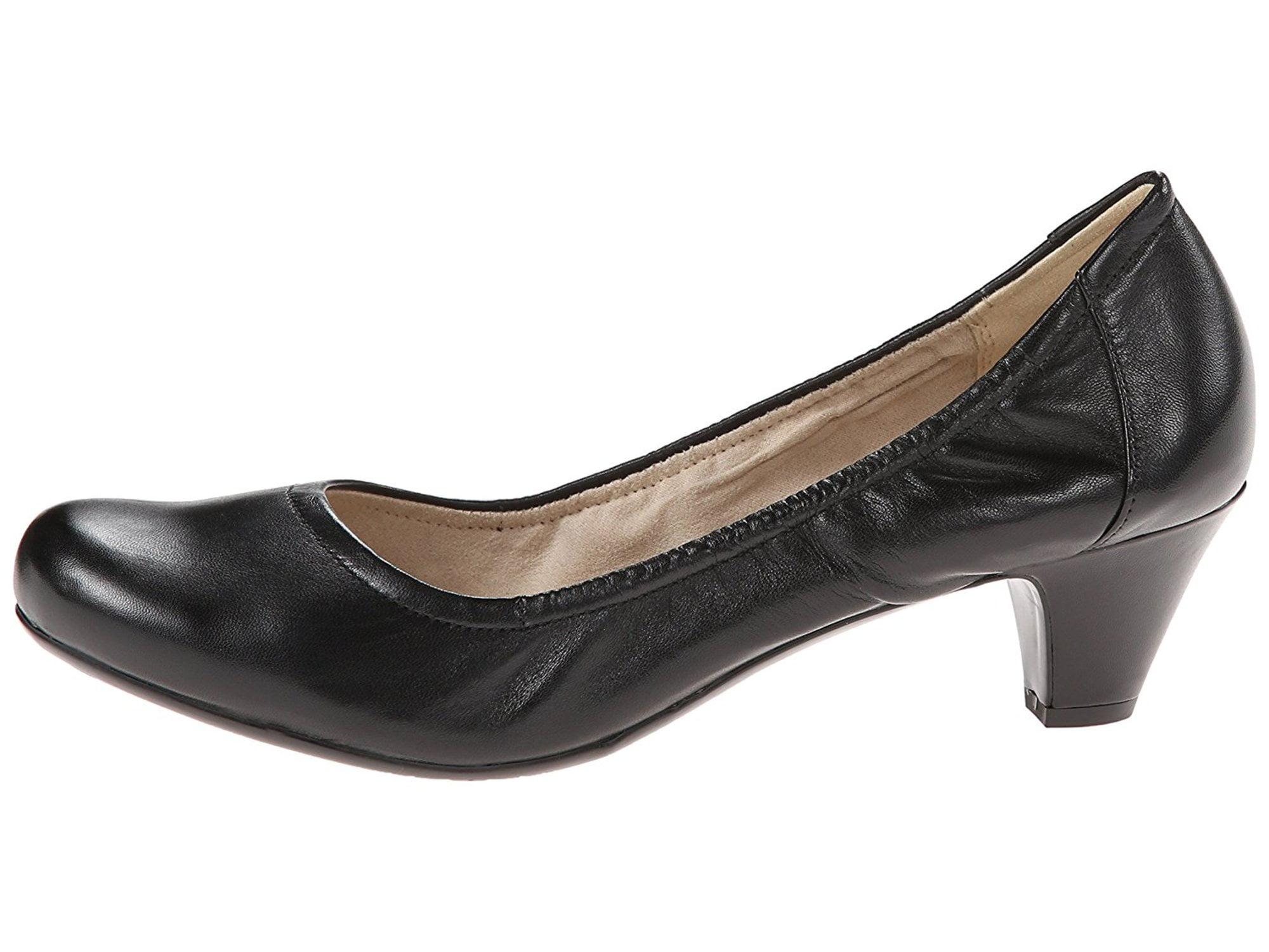 c5326b58f40 Naturalizer Womens Stargaze Leather Closed Toe Classic Pumps