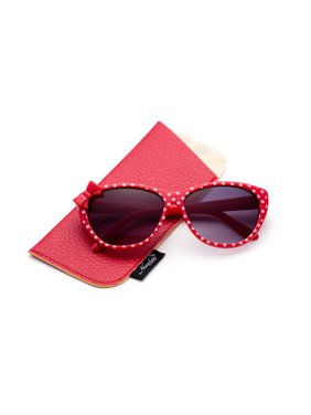 3 PK Kyra Plastic Polka Dot Bow Fashion Sunglasses for Kids