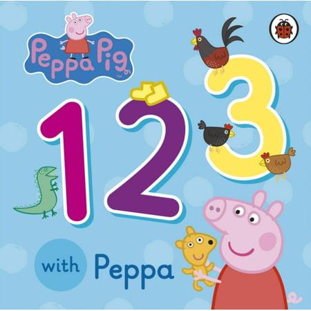 - Peppa Pig: 123 with Peppa (Board book)