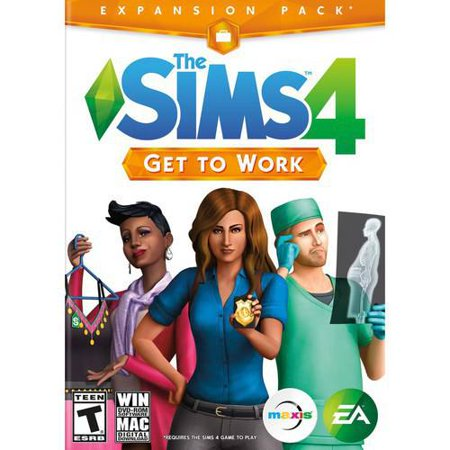 Refurbished Electronic Arts The Sims 4  Get To Work Expansion Pack Windows Mac