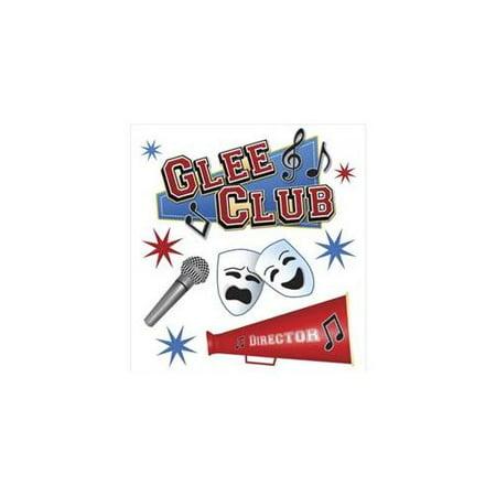 Fan Club Sticker - Glee Club Dimensional Stickers - Jolees