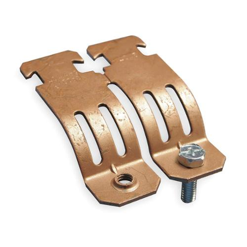 CADDY Copper Tubing Strut Pipe Clamp,  Copper Electro Plated Steel COPC0150CP