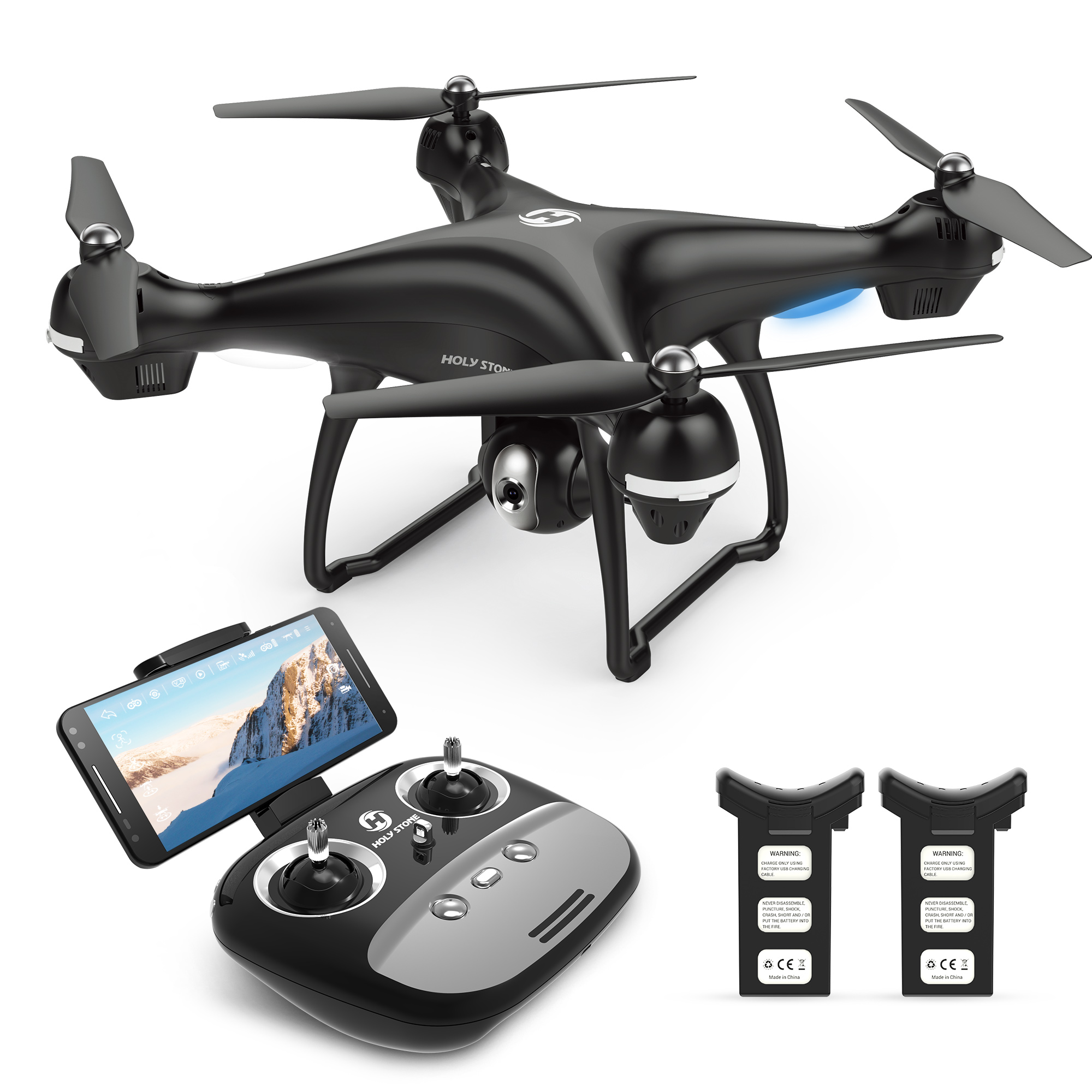 Click here to buy Holy Stone GPS FPV RC Drone HS100 with 1080P Camera and Video GPS Return Home Quadcopter with Adjustable... by Holy Stone.