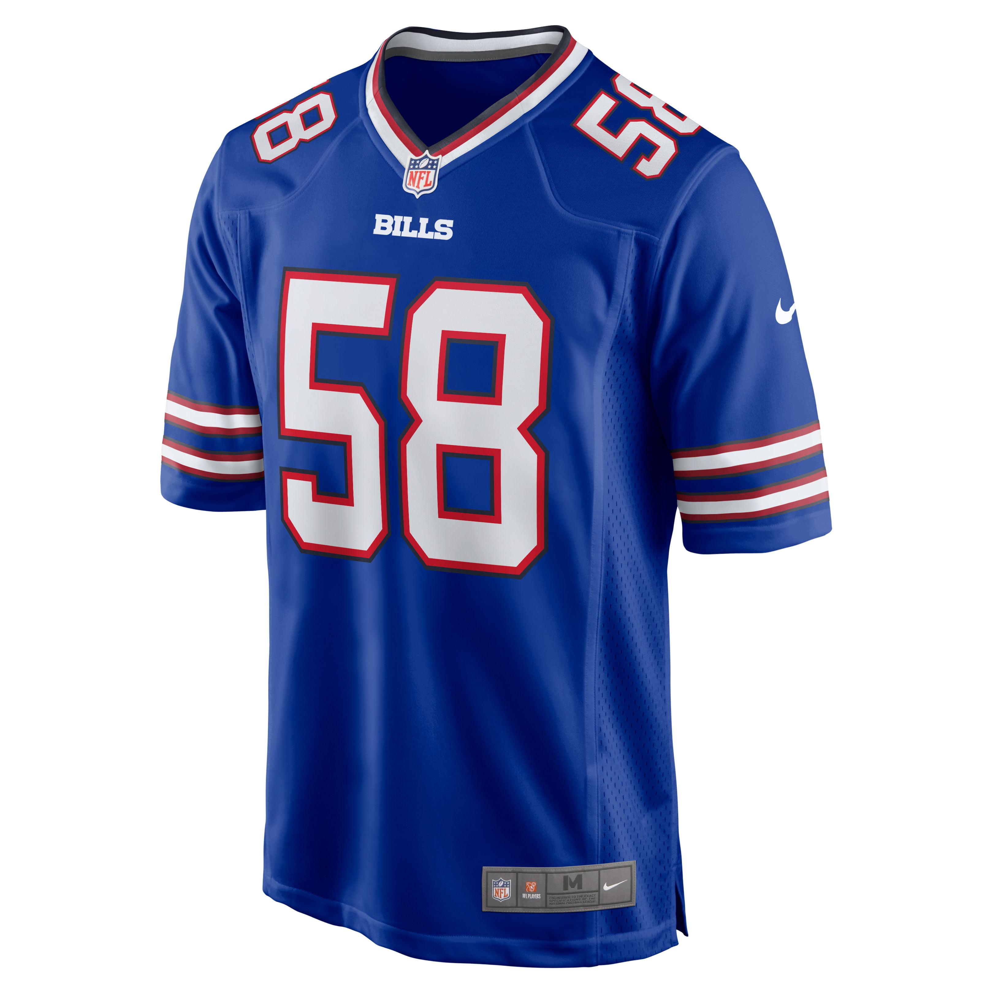 Matt Milano Buffalo Bills Nike Game Jersey - Royal