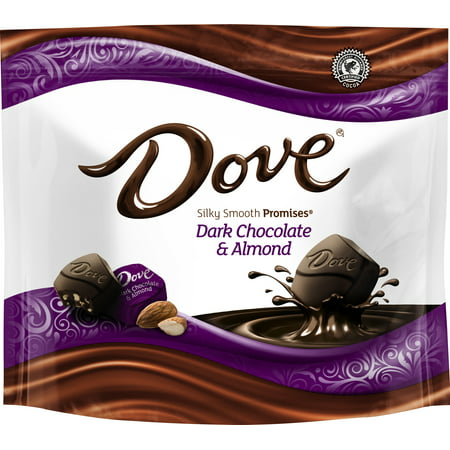 (3 Pack) Dove Promises, Dark Chocolate Almond Candy, 7.61 (Lounger Chocolate)
