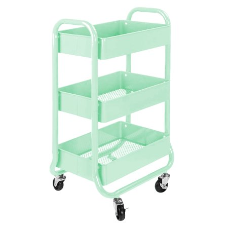 Casa 3 Tier Storage Rolling Cart