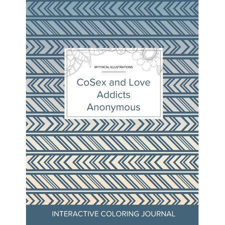 Adult Coloring Journal: Cosex and Love Addicts Anonymous (Mythical Illustrations, Tribal) (Paperback) - Tribal Coloring Pages