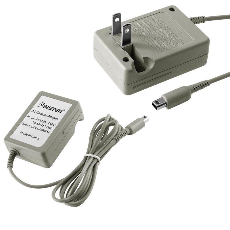 Insten Travel AC Wall Charger for Nintendo NEW 3DS XL / DSi / DSiXL / DSiLL / 3DS XL LL 2DS 3DS (Premium Rapid Folding Power Adapter)