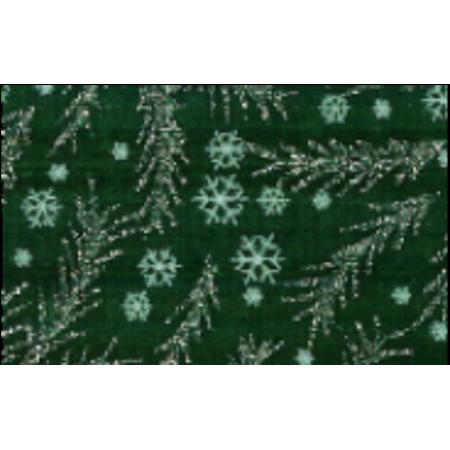 "RTC 44"" Wide Christmas Holiday Glitter Spruce Metallic Fabric, per Yard"