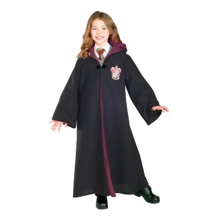 Rubie's 884259M Child's Deluxe Harry Potter Robe with Gryffindor Emblem, Medium (Discontinued by - Lotr Costume