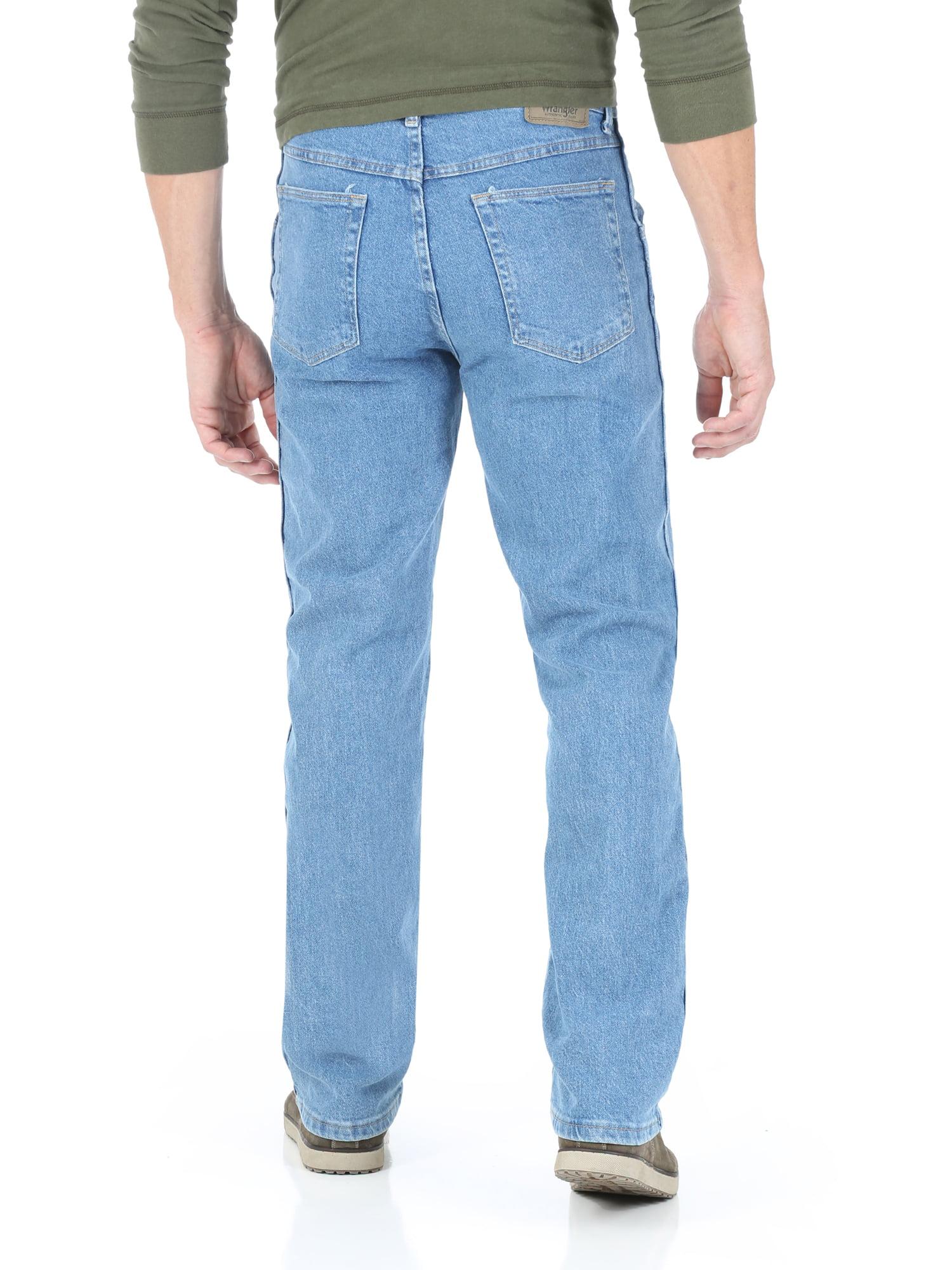 e4b35c8344 Wrangler - Men s Regular Fit Jean with Comfort Flex waistband - Walmart.com