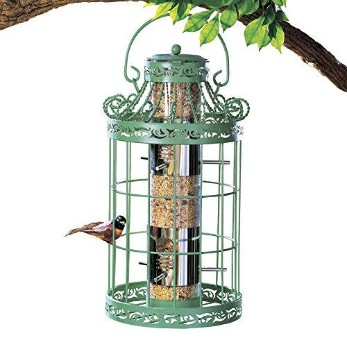Collections Etc Springtime Hanging Birdfeeder by Collections Etc