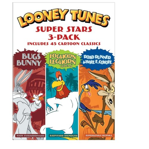 Looney Tunes Super Stars 3-Pack: Bugs Bunny   Foghorn Leghorn & Friends   Road Runner & Wile E. Coyote by TIME WARNER