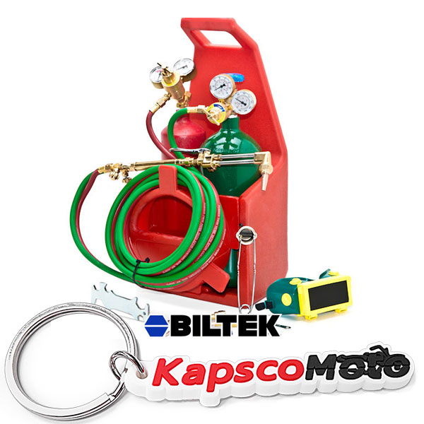 Biltek Professional Portable Torch Kit Oxygen Acetylene O...