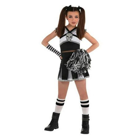 Ra Ra Rebel Cheerleader Girls Child Medium 8 - 10 Costume (10 Costumes)