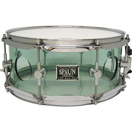 Spaun Acrylic Vented Snare Drum Coke Bottle 13 x 5.5 in. ()