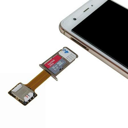 Universal Hybrid SIM Card Slot Dual SIM Card Adapter Extender Nano to Nano - image 3 of 10
