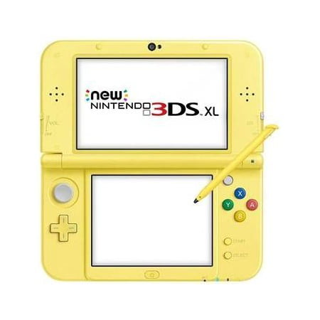 New Nintendo 3DS XL - Pikachu Yellow Edition (The Best 3ds Games Out Now)