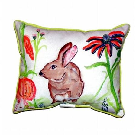 Brown Rabbit Left Large Indoor & Outdoor Pillow - 16 x 20 in. - image 1 of 1