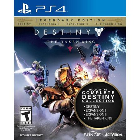 Refurbished Activision Destiny  The Taken King Legendary Edition  Ps4  Video Game