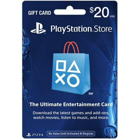 Sony Playstation Network Card: $20 Gift Card