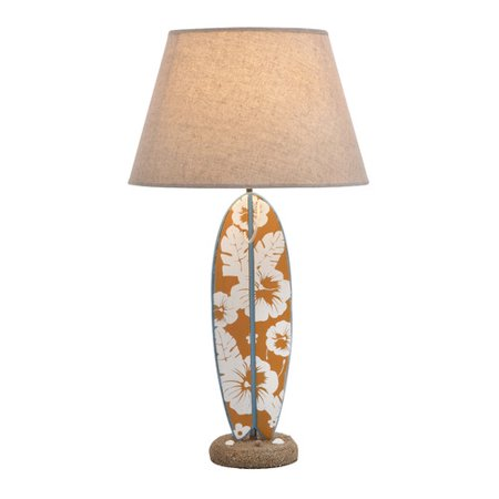 Surfboard Lamp Base
