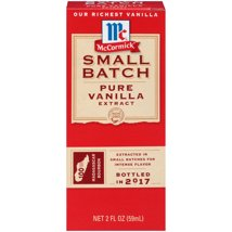 Extracts: McCormick Small Batch Pure Vanilla Extract