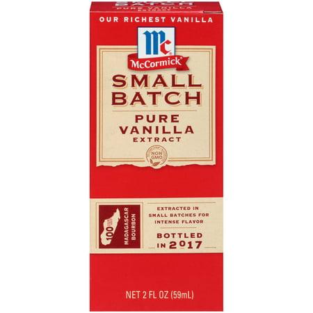 McCormick Small Batch Pure Vanilla Extract, 2 FL