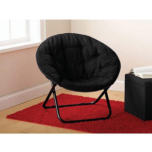 Super Mainstays Black Saucer Chair Walmart Com Alphanode Cool Chair Designs And Ideas Alphanodeonline