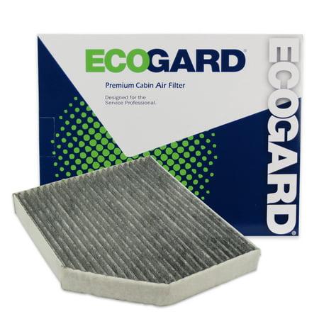 ECOGARD XC36071C Cabin Air Filter with Activated Carbon Odor Eliminator - Premium Replacement Fits Audi Q5, A4 Quattro, A5 Quattro, A4 / Porsche Macan / Audi S5, S4, allroad, SQ5, A5, RS5, A4