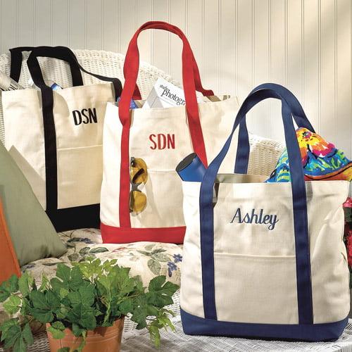 personalized canvas tote bag walmart com