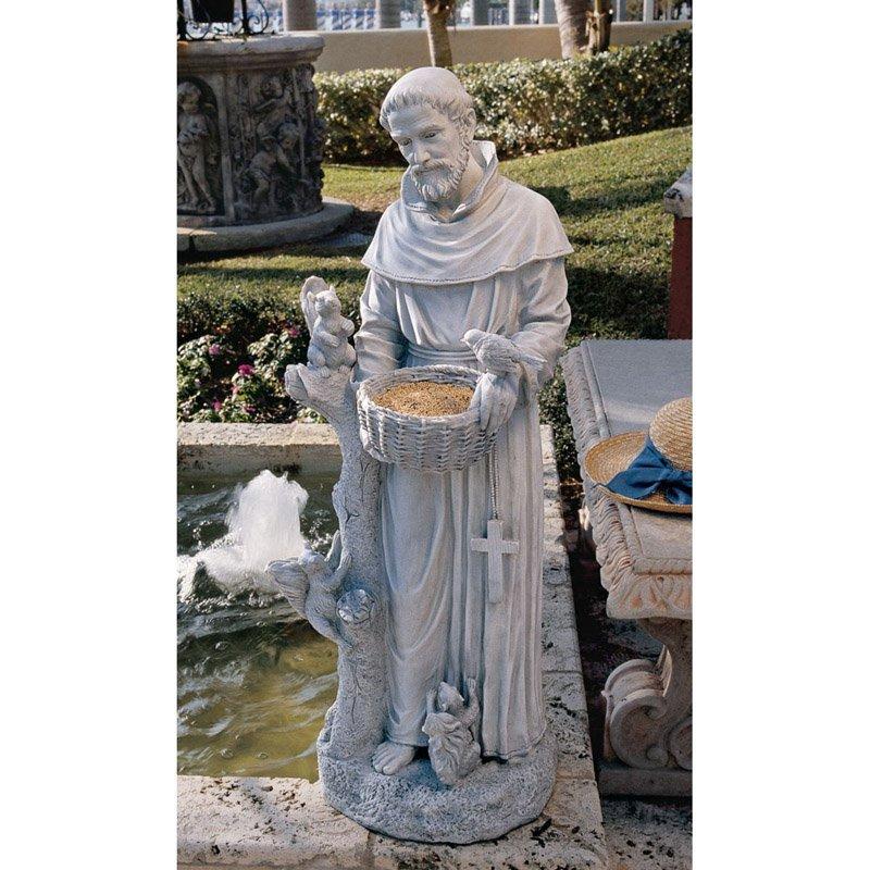 Design Toscano Natures Nurturer St. Francis Garden Statue by Design Toscano