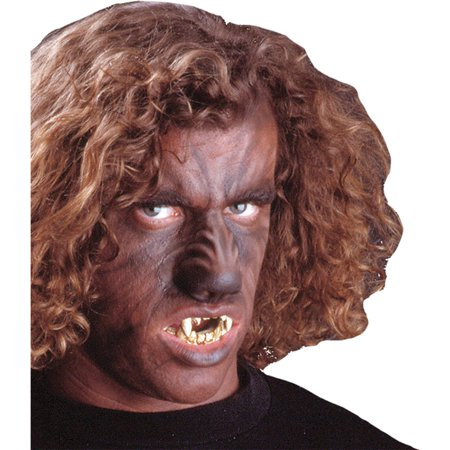 Morris Costumes Adult Latex Piece Nose Woochie Werewolf Look Large, Style FA36](Woochie Nose)